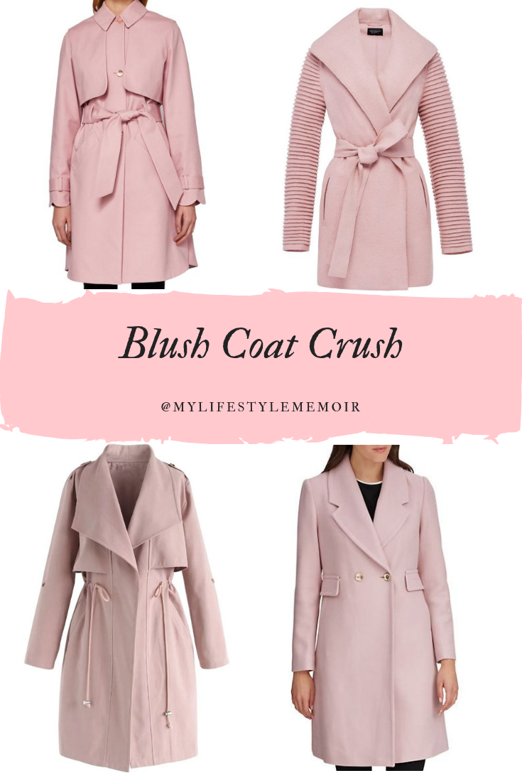 FALL FASHION - BLUSH COAT CRUSH #fallstyle #blushstyle #blushcoat