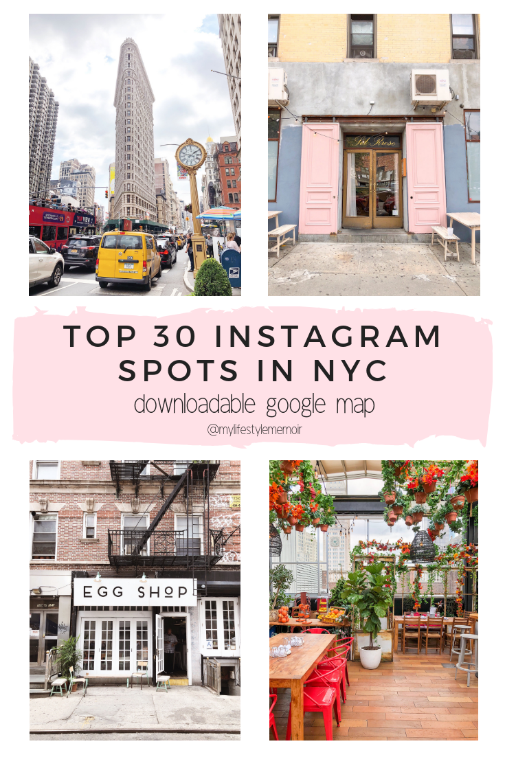 Complete travel guide to New York City. Includes a downloadable google maps which highlights the must explore, where to eat and insta-worthy spots. #newyork #travelguide #googlemap #downloadablemap #newyorkinsta