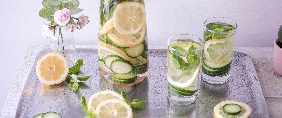 INFUSED WATER – CHANGING UP MY PLAIN WATER