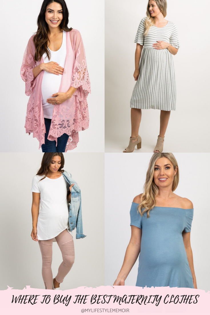 Your ultimate guide to finding the best shops to buy maternity clothes. My top five maternity stores will get you through your mommy to be phase!