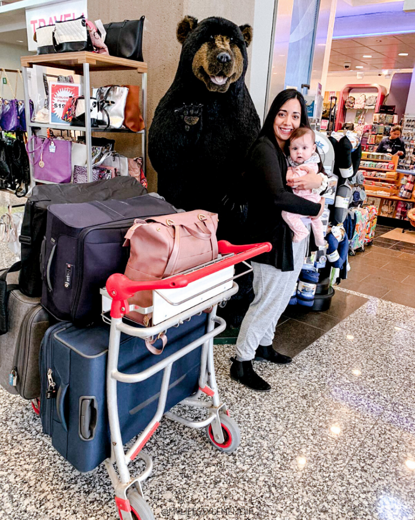Travelling with a newborn is never easy, but hopefully with my tips and experience it will help you. Having a baby shouldn't hold you back from travelling. #travelmadmum #travellingwithanewborn #familytravel #baby #travel #newborn