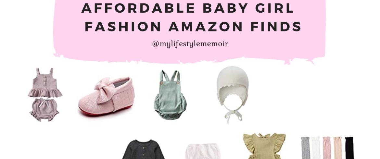 BABY GIRL FASHION AMAZON FINDS